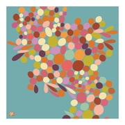 emma at home by Emma Gardner Cascade Graphic Art on Canvas in Aqua; 14'' H x 11'' W x 1'' D