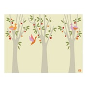 emma at home by Emma Gardner Fruit Trees Graphic Art on Canvas in Vanilla; 11'' H x 14'' W
