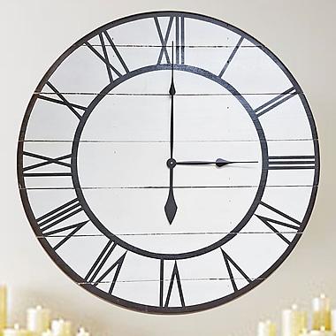 BrandtWorksLLC Oversized Rustic Modern Wall Clock; 36'' H x 36'' W