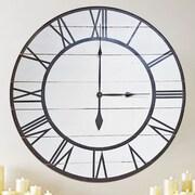 BrandtWorksLLC Oversized Rustic Modern Wall Clock; 30'' H x 30'' W