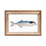 FishAye Trading Company Bluefish Framed Print of Painting