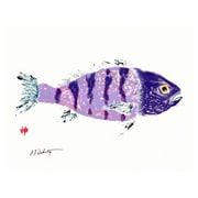 FishAye Trading Company Atlantic Print of Painting