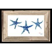 FishAye Trading Company Starfish Print of Painting