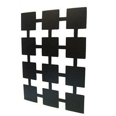Mariano Metal Decor Squares Wall D cor