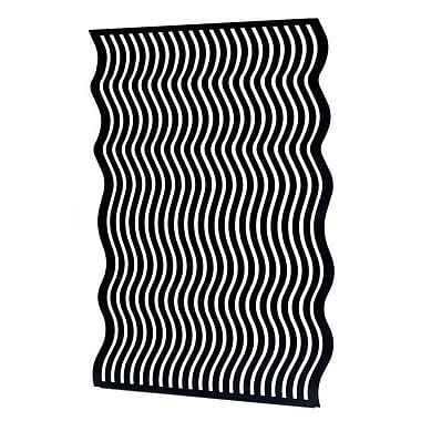 Mariano Metal Decor Curves Wall D cor