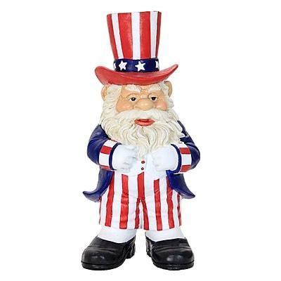 Exhart Uncle Sam Gnome Statue