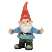 Exhart Gnome Holding Two Cans Statue