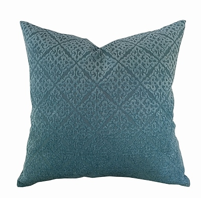 Kingray Home Textile Chenille Jacquard Throw Pillow (Set of 2); Spa