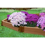 Frame It All 7.5 ft. x 0 ft. Manufactured Wood Raised Garden Planter