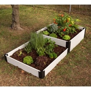 Frame It All 8 ft. x 4 ft. Manufactured Wood Raised Garden Planter