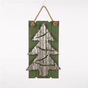 Glitzhome LED Wooden Christmas Tree Wall D cor