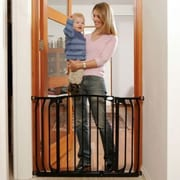 Dreambaby Dreambaby Chelsea Xtra Wide Swing Close Gate Combo Pack; Black