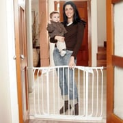 Dreambaby Dreambaby Chelsea Xtra Wide Swing Close Gate Combo Pack; White