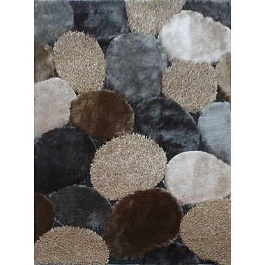 Rug Factory Plus Hand-Tufted Gray/Beige Area Rug
