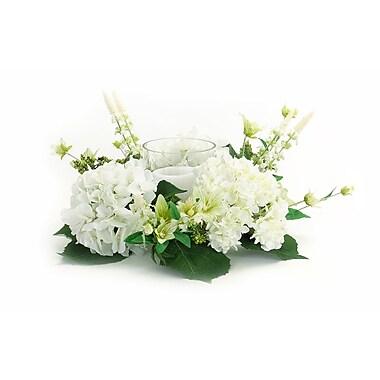 Melrose Intl. 14'' Hydrangea/Foliage Wreath