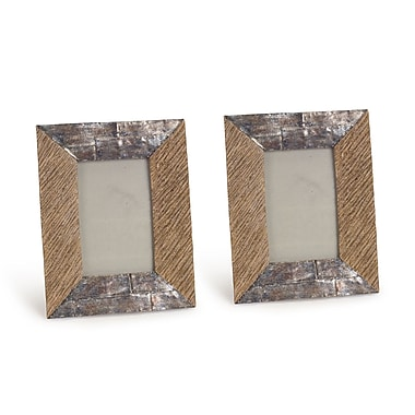 Melrose Intl. Tabletop Picture Frame (Set of 2)