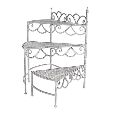Melrose Intl. Stair Multi-Tiered Plant Stand