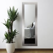 American Value Current Trend Apartment Stainless Full Length Wall Mirror; 71'' H x 21.5 W x 0.75'' D