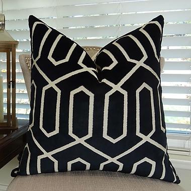 Plutus Brands Bengal Lattice Throw Pillow; 18'' H x 18'' W