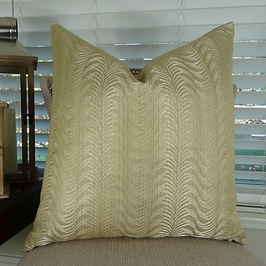 Plutus Brands Delicate Waves Euro Pillow