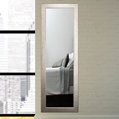 American Value Current Trend Apartment Full Length Wall Mirror; 71'' H x 16'' W x 0.75'' D