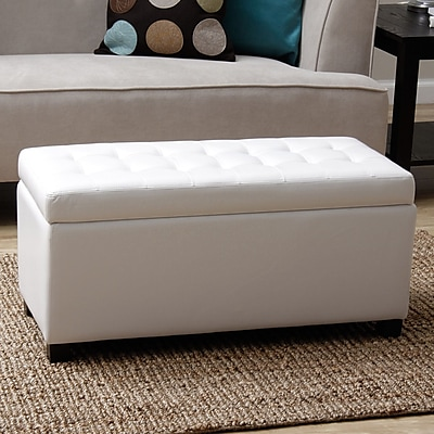 Warehouse of Tiffany Malm Upholstered Storage Bench;