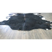 Rug Factory Plus Astonishing Exquisite Hand-Woven Black Area Rug