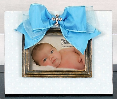 Carpentree Faith Picture Frame; Blue