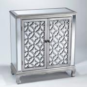 Wildon Home   2 Door Mirrored Cabinet