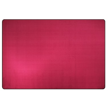 Flagship Carpets Americolors Cranberry Area Rug; 4' x 6'