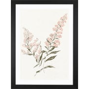 iCanvas Flowers on White I Canvas Print; 24'' H x 16'' W x 1'' D - Framed