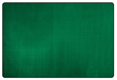 Flagship Carpets Americolors Clover Green Area Rug; Rectangle 7'6'' x 12'