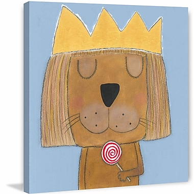 Marmont Hill ''The Empress'' Painting Print on Wrapped Canvas; 40'' H x 40'' W x 1.5'' D