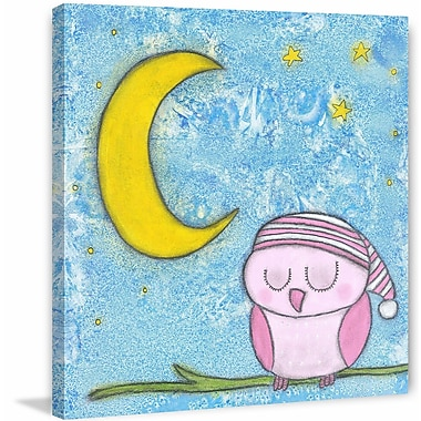 Marmont Hill ''Sweet Dreams Owlie'' Painting Print on Wrapped Canvas; 18'' H x 18'' W x 1.5'' D
