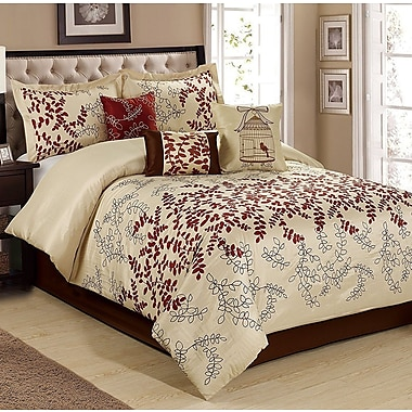 Homechoice International Group Saratoca 7 Piece Comforter Set; King