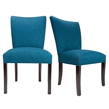 Sole Designs Julia Key Largo Spring Seating Double Dow Upholstered Side Chair (Set of 2)