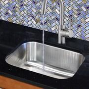 Nantucket Sinks 23'' x 17.75'' Gauge Rectangle Undermount Kitchen Sink