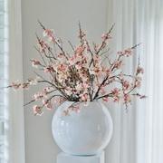 Pottery Pots Basic Sleek Decorative Table Vase
