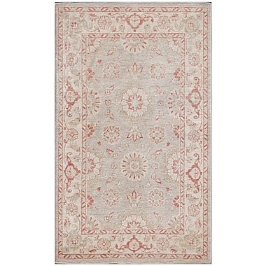 Pasargad NY Ferehan Hand-Knotted Pink Area Rug
