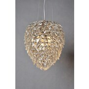 Y Decor 3-Light Crystal Chandelier