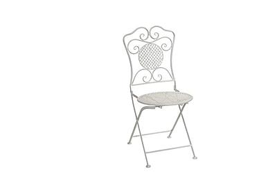 Melrose Intl. Dining Side Chair; White