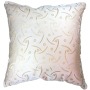 Natural Geo Pearl Throw Pillow
