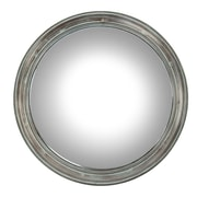 Zentique Inc. Cerne Convex Wall Mirror; 28.5'' H x 28.5'' W x 2'' D