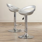 Buffalo Tools AmeriHome Adjustable Height Swivel Bar Stool (Set of 2)