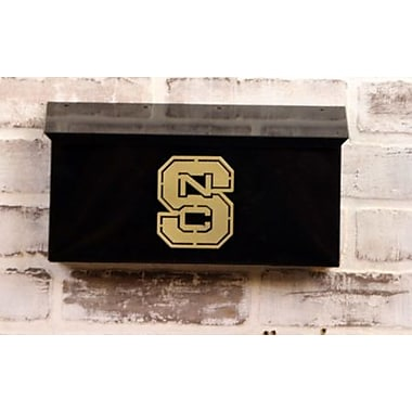 HensonMetalWorks NCAA Wall Mounted Mailbox; North Carolina State University