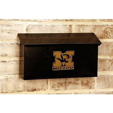 HensonMetalWorks NCAA Wall Mounted Mailbox; University of Mississippi