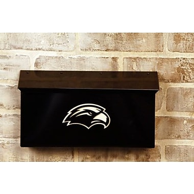 HensonMetalWorks NCAA Wall Mounted Mailbox; University of Southern Mississippi