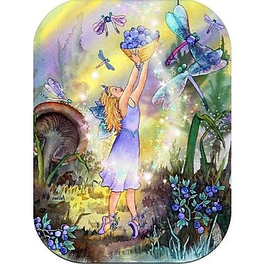 McGowan Azuria Glass Fairy Cutting Board; 0.25'' H x 8.75'' W x 11.75'' D