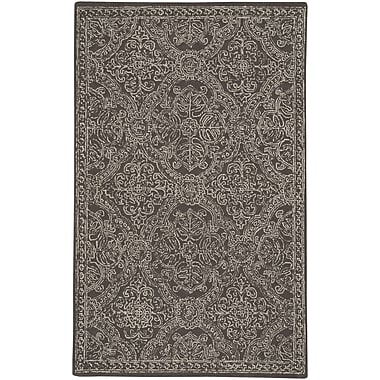 Capel Allure Hand-Tufted Coffee Area Rug; 8' x 10'