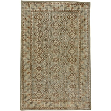 Capel Caria Hand-Knotted Fawn/Gray Area Rug; 8' x 10'